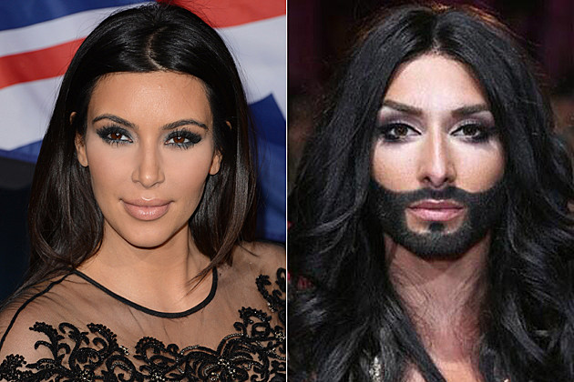 Kim Kardashian Conchita Wurst
