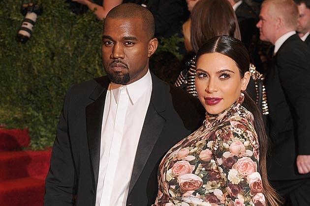Kanye West Kim Kardashian 2013 Met Ball