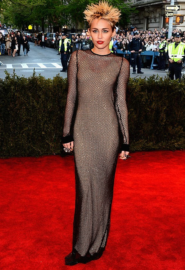 Miley Cyrus 2013 Met Gala Marc Jacobs