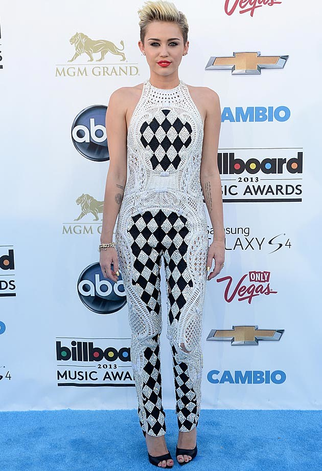 Miley Cyrus 2013 Billboard Music Awards Balmain