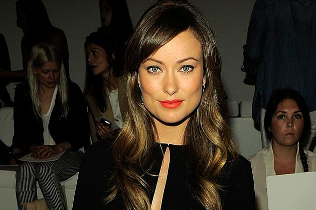 Olivia Wilde Orange Lips