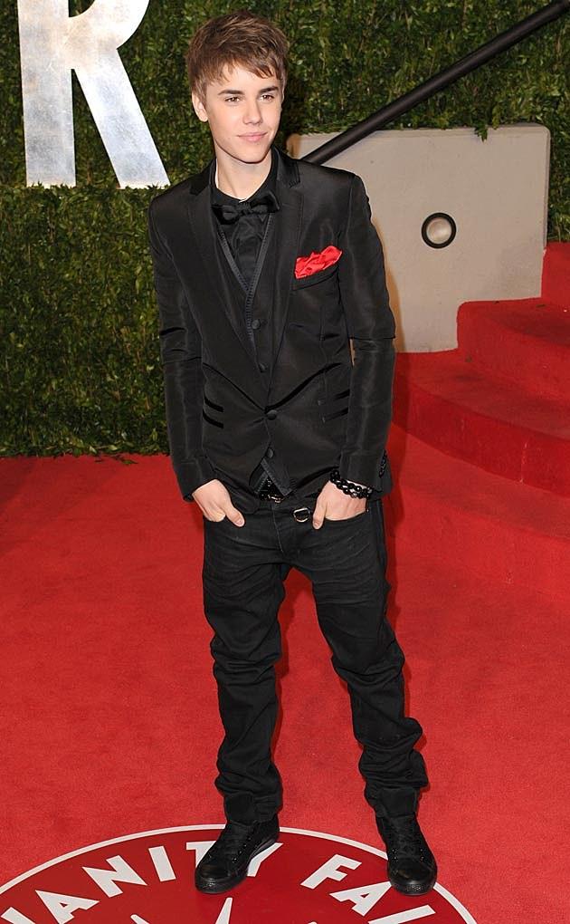Justin Bieber Oscars 2011