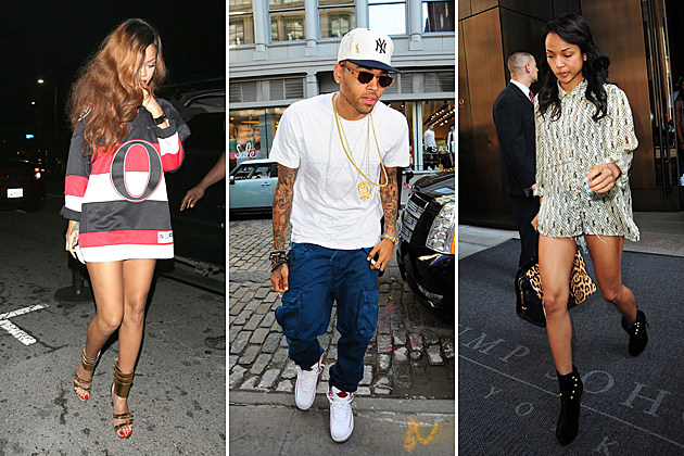 Rihanna-Chris-Brown-Karrueche Tran
