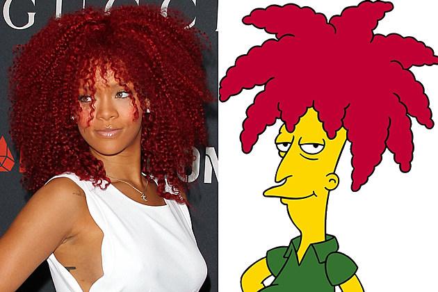 Rihanna Sideshow-Bob