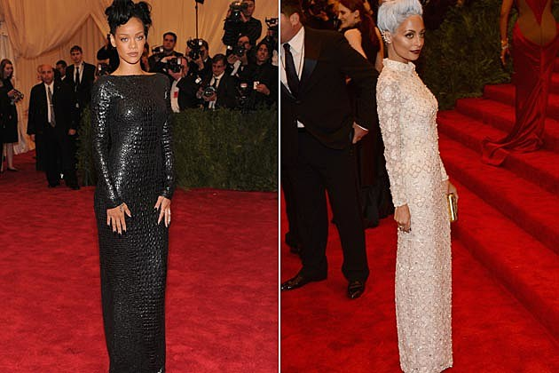 Rihanna Nicole Richie Met Gala Tom Ford Topshop