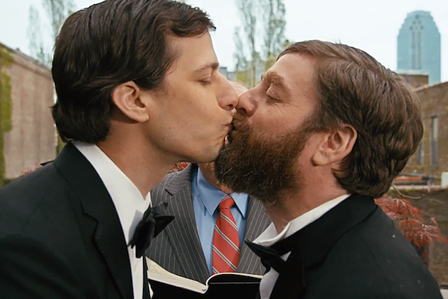 Zach Galifianakis Andy Samberg
