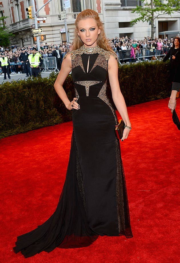 Taylor Swift J. Mendel 2013 Met Gala