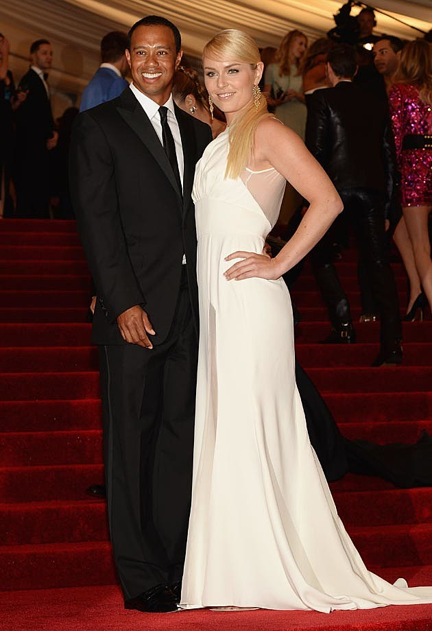 Tiger Woods Lindsey Vonn 2013 Met Gala Vogue
