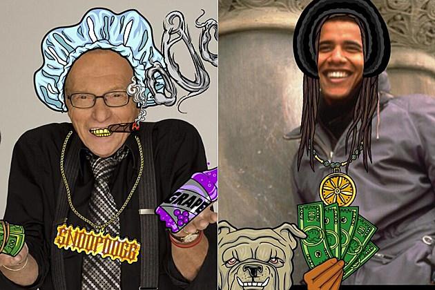 Larry King Barack Obama
