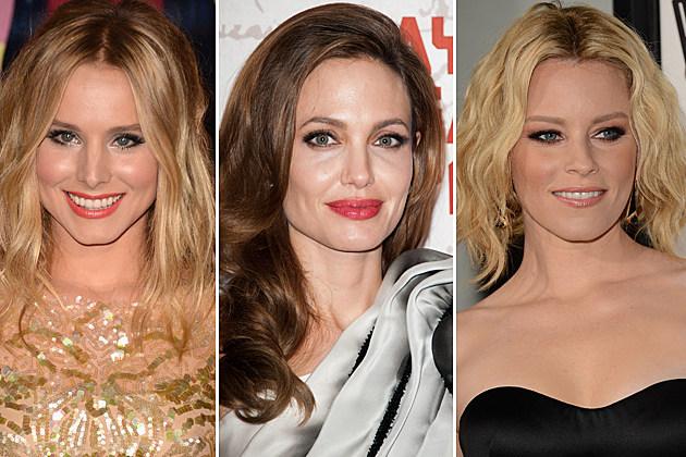 Kristin Bell, Angelina Jolie, Elizabeth Banks