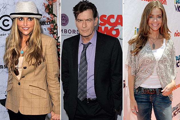 Brooke Mueller, Charlie Sheen, Denise Richards
