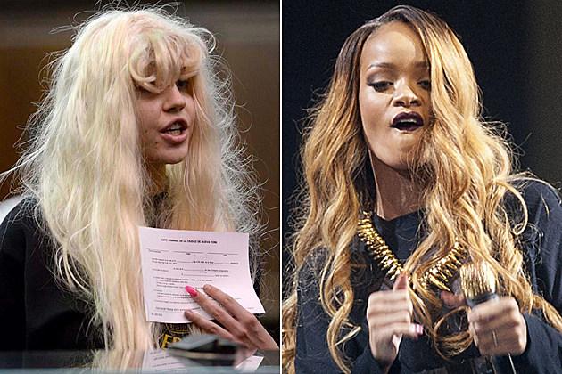 Amanda Bynes Rihanna