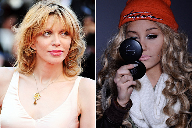 Courtney Love, Amanda Bynes