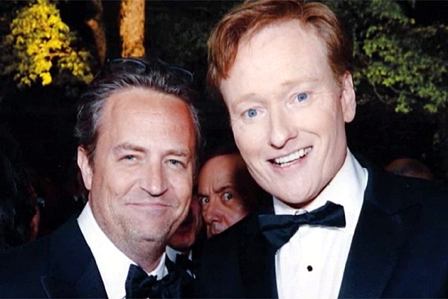 Matthew Perry, Kevin Spacey, Conan O'Brien