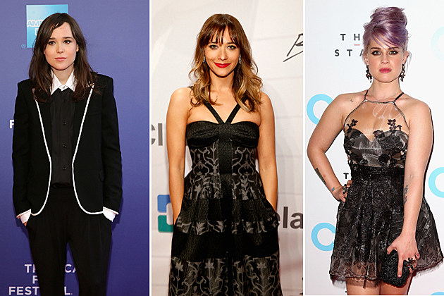 Ellen Page, Rashida Jones, Kelly Osbourne