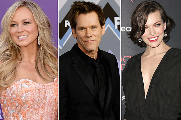 Jewel, Kevin Bacon, Milla Jovovich