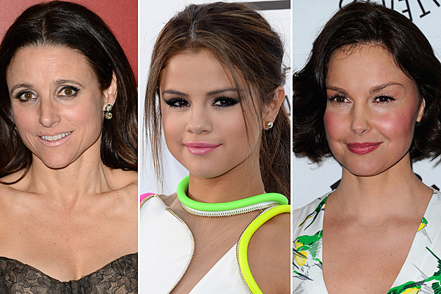 Julia Louis-Dreyfus, Selena Gomez, Ashley Judd
