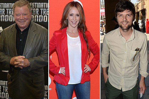 William Shatner, Jennifer Love Hewitt, Adam Scott