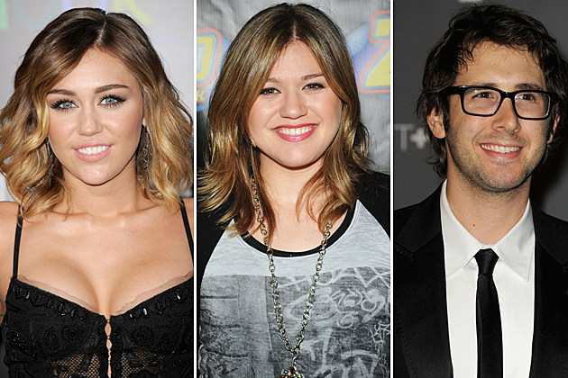 Miley Cyrus, Kelly Clarkson, Josh Groban