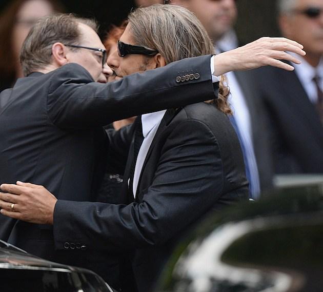 Steve Buscem Michael Imperioli James Gandolfini Funeral