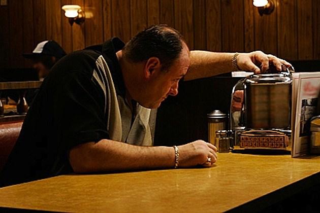 James Gandolfini Sopranos Diner