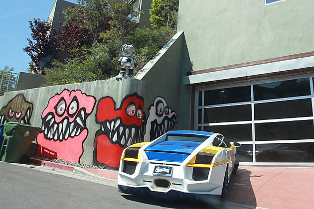 Chris Brown's house