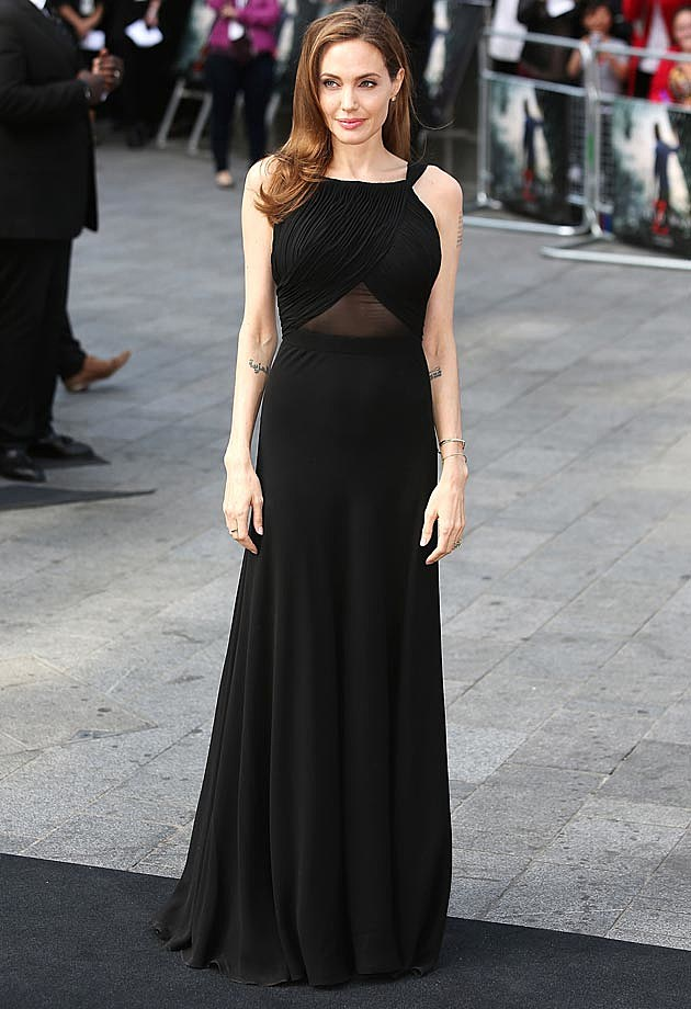Angelina Jolie World War Z Saint Laurent