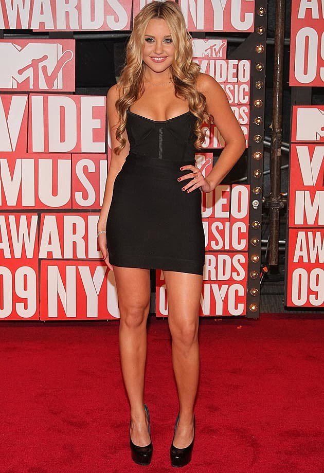 Amanda Bynes Black Body Con