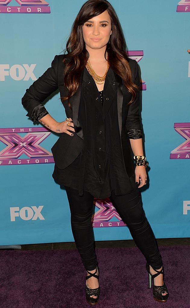 Demi Lovato Black Pants