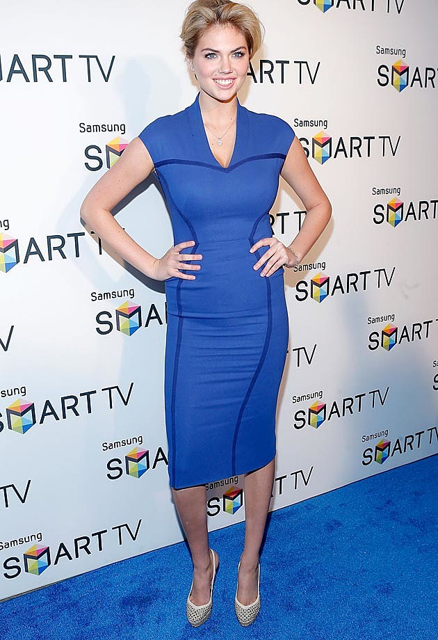 Kate Upton Blue Zac Posen