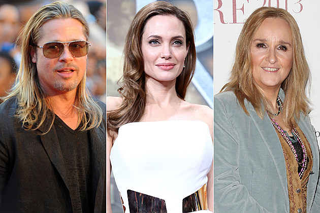 Brad Pitt Angelina Jolie Melissa Etheridge
