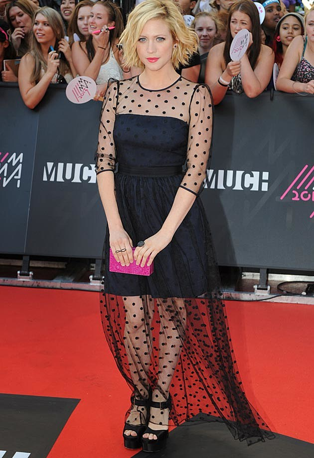 Brittany Snow Much Music Awards