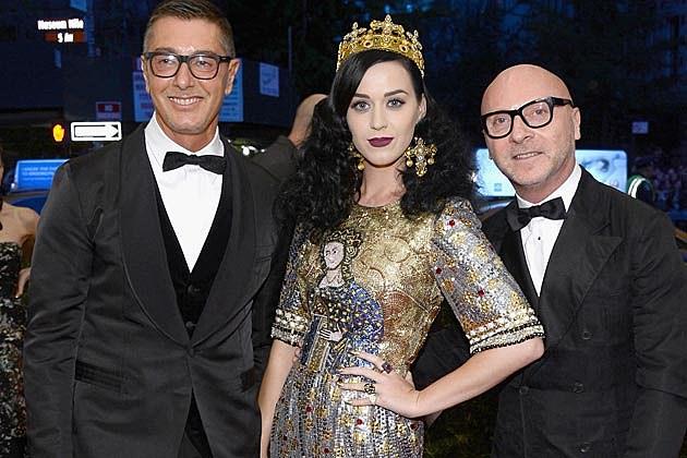 Dolce + Gabbana Katy Perry