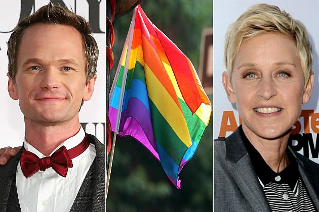 Celebrities like Neil Patrick Harris and Ellen had a lot to say about the fall of DOMA on Twitter.