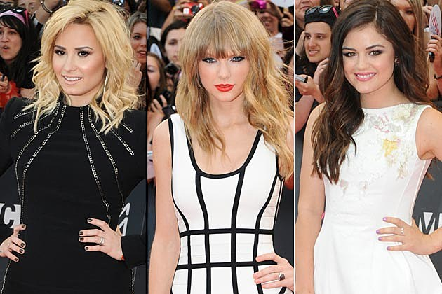 Demi Lovato Taylor Swift Lucy Hale