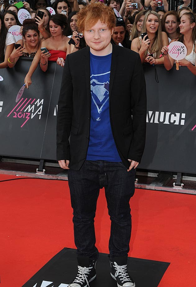 Ed Sheeran Much Music Awards