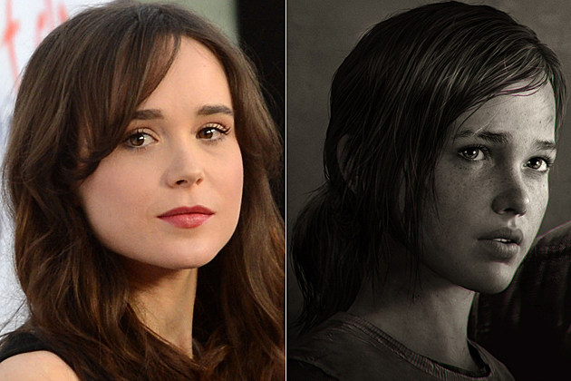 Ellen Page Ellie 'The Last of Us'
