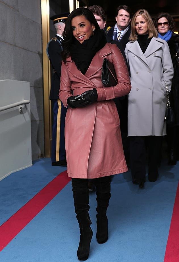 Eva Longoria Inauguration