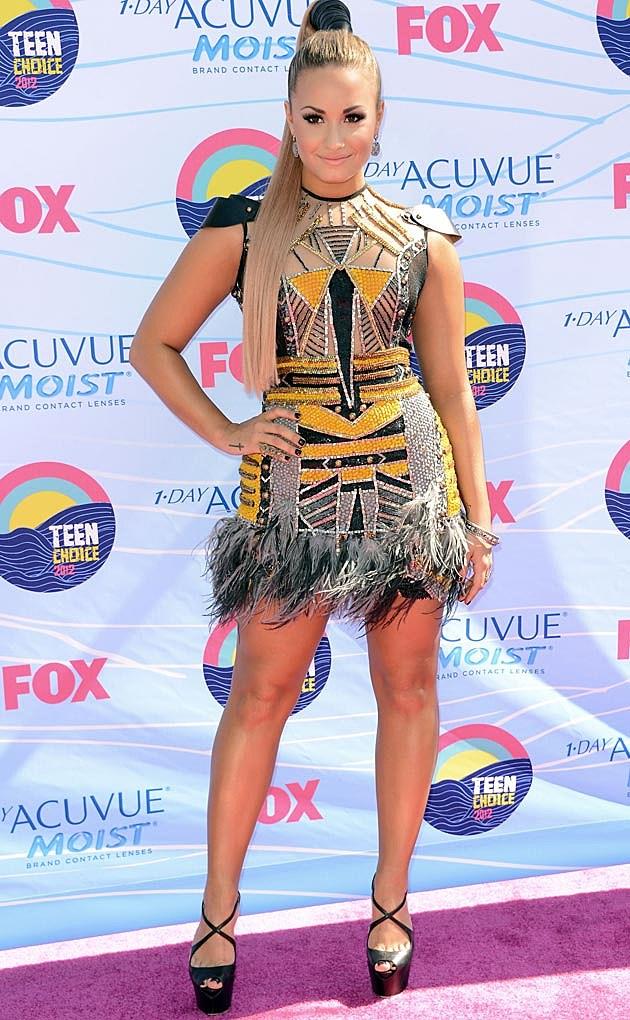 Demi Lovato Falguni Shane Peacock