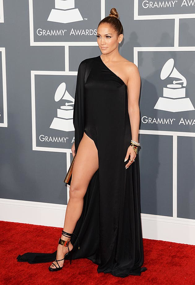 Jennifer Lopez Anthony Vacarello Grammys 2013