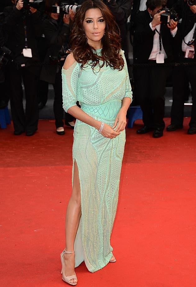 Eva Longoria Atelier Versace Cannes