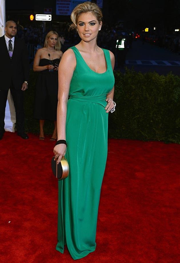 Kate Upton Green DVF Met Gala