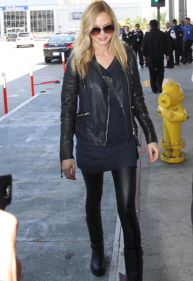 Heather Graham Leather