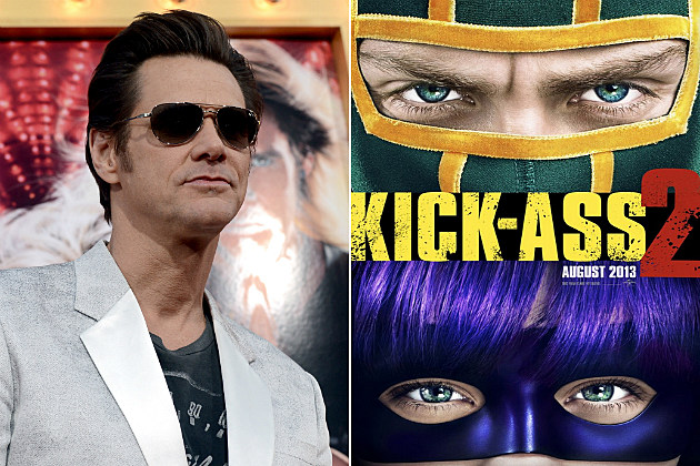 Jim Carrey chose to star in a movie called 'Kick Ass 2' and then got mad because it's violent.