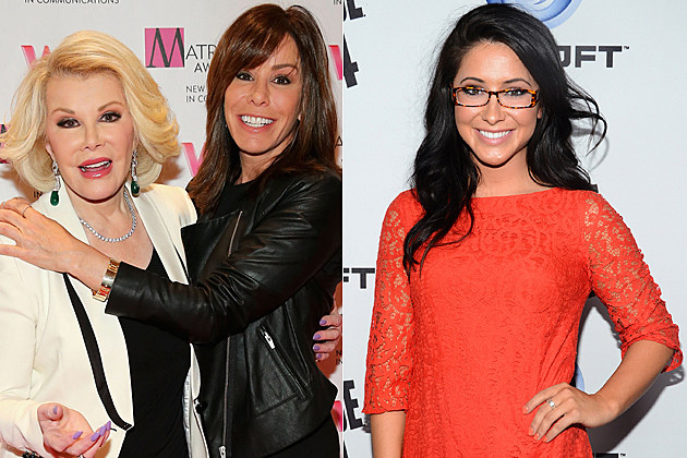 Joan Rivers Melissa Rivers Bristol Palin