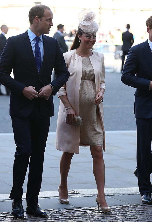 Kate Middleton Jenny Packham Blush Coronation