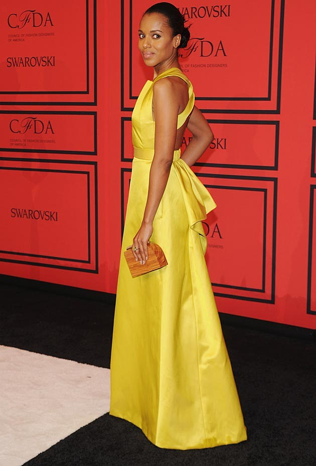 Kerry Washington Jason Wu CFDAs