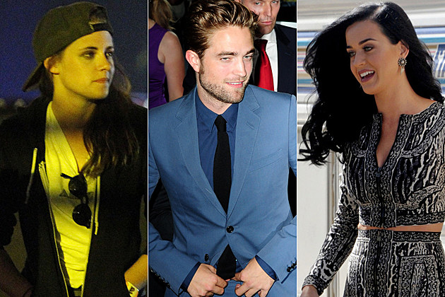 Kristen Stewart Robert Pattinson Katy Perry