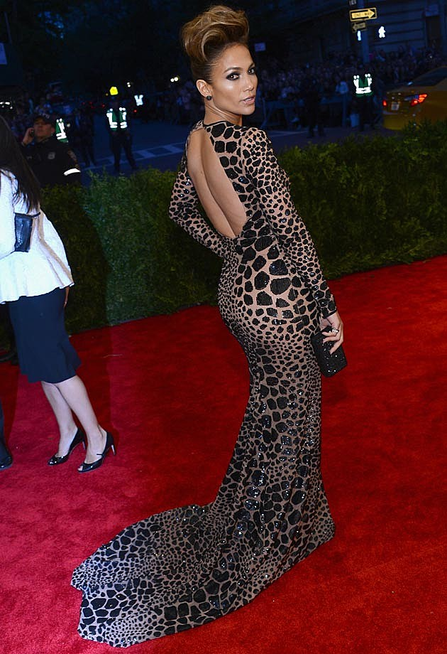 Jennifer Lopez Michael Kors Met Ball 2013