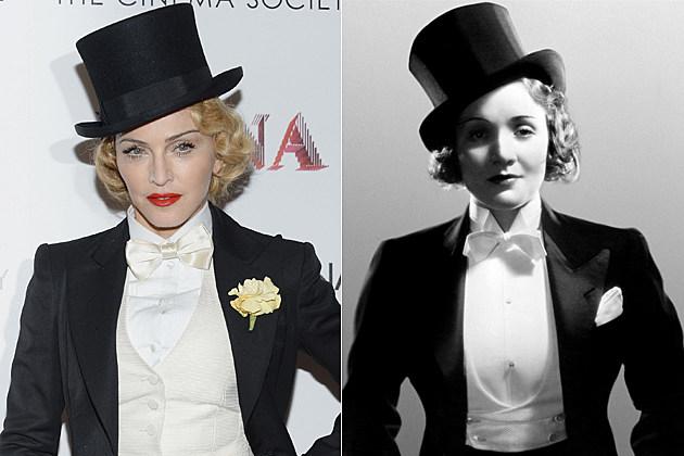 Madonna Marlene Dietrich